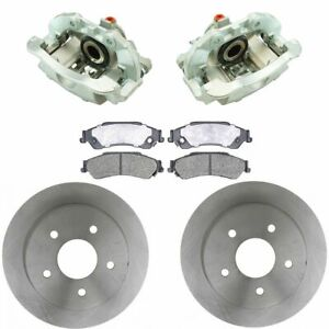 Raybestos NEW Disc Brake Caliper, Ceramic Pad & Rotor Rear Kit for Chevy S10