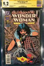 BRIAN BOLLAND SIGNED CGC 9.2 SS WONDER WOMAN #100 COMIC NOT CBCS BATMAN SUPERMAN