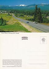 1980's COMOX GLACIER COURTENAY BC CANADA UNUSED COLOUR POSTCARD