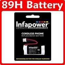 Infapower 89H CORDLESS TELEPHONE BATTERY 2.4V 600mAH BC103508
