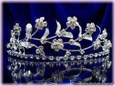 """DIADEME cristal """"Frisson d'Argent"""" Bijou pour la mariée accessoire pour Mariage"""