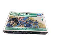 ESCI ERTL Union Infantry American Civil War 1/72 Scale NEW IN BOX P-222