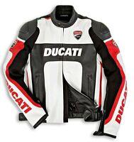 DUCATI Dainese CORSE Lederjacke Jacke Leather Jacket REDUZIERT %% NEU !!!