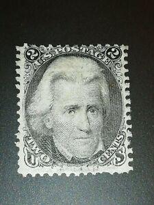 U.S.A. Stamps Scott  #73: 1863 2c Andrew Jackson F/VF-MLH.