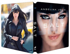 SALT - EDIZIONE STEELBOOK LIMITATA (BLU-RAY) Angelina Jolie