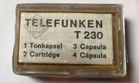 Telefunken T230 Cartridge With Needle NOS This Is The Original Made Germany 🇩🇪