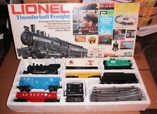 Lionel Thunderbal Loco Freight Set 5 Cars 40 Watt Transformer 16 Piece o27 Track