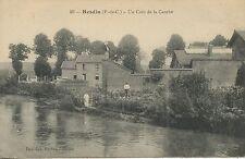 CARTE POSTALE / HESDIN UN COIN DE  LA CANCHE