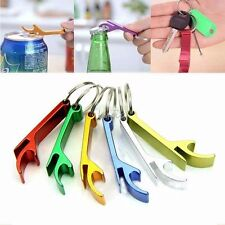 3pcs/set Bottle Opener Key Ring Chain Keyring Keychain Metal Beer Bar Tool Claw