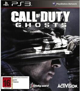 Call Of Duty Ghosts PS3 Playstation 3 New Sealed In Stock