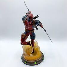 "Diamond Select Marvel Gallery ""Deadpool"" PVC Statue Diorama Figure - 10"" Tall"