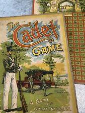 Vtg 1905 Milton Bradley The Cadet Game West Point Military Academy Canon