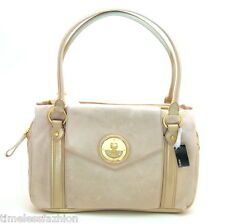 MIMCO MOLTEN WORKER LEATHER BAG IN MILKYWAY BNWT RRP$550