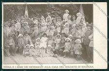 Bologna città Militari Casa Soldato cartolina QQ9115