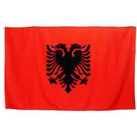 Fahne Albanien Querformat 90 x 150 cm albanische Hiss Flagge Nationalflagge