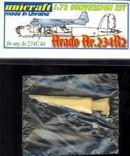Unicraft Models 1/72 ARADO Ar-234 R-2 Jet Bomber Project Resin Conversion Kit