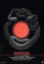 ROSEMARY'S BABY Movie POSTER 27x40 Polish Mia Farrow John Cassavetes Ruth Gordon