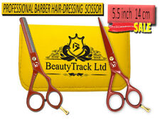 Professional Barber 5.5 Hair Cutting Thinning Scissors Shears Hairdressing Salon