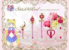 NEW Premium BANDAI 25th Sailor Moon Stick & Rod Moon Prism Edition from Japan