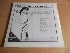 Rolling Stones - Can You Sing Berlin (1982) rare live triple LP Not Tmoq SEALED