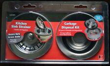 Keeney Kitchen Sink Strainer Garbage Disposal Kit Heavy Duty Brass