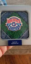 New listing TORONTO BLUE JAYS 1992 / 1993 WORLD SERIES champions Skydome TURF TIN.