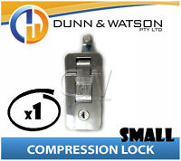 Small Chrome Compression Lock / Handle / Latch (Pop Omega Trailer Canopy ) x1