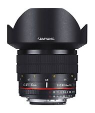 Samyang 14mm f2.8 AE ED IF UMC Wide Angle Lens - for Nikon