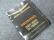 2003 2004 Honda GL1800 A Gold Wing Motorcycle Electrical Troubleshooting Manual