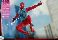 Hot Toys 1/6 VGM34 Marvel's Spider-Man Scarlet Spider Suit Figure Collectibles