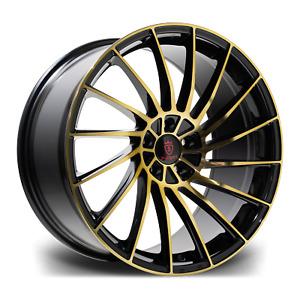 """20"""" Stuttgart SF16 Alloy Wheels Bronze 5x120 fits BMW 5 Series F10 F11"""