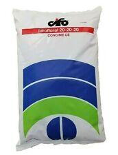 Concime in polvere idrosolubile radicale fertilizzante NPK 20 20 20 sacco 10 kg