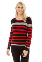 Roman Originals Women Stripe Jumper