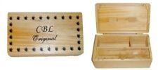 Wooden Rolling Medium Size Box Tray Tabacco Grinder Herbs Rizla Smoking UK