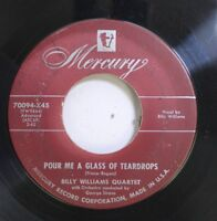 50'S & 60'S 45 Billy Williams Quartet - Pour Me A Glass Of Teardrops / It'S A Mi