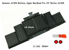 Genuine A1494 Battery  MacBook Pro 15 Inch Retina A1398...