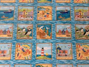 Seaside Squares 33 Labels 30 x 110 Cm Nutex 11030 104