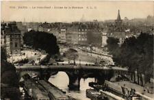 CPA PARIS (6e) Le Pont Neuf. Ecluse de la Monnaie (537680)