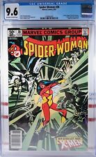 🌟 CGC 9.6 NM+ SPIDER-WOMAN #38 NEWSSTAND VARIANT Marvel Comics X-MEN JUGGERNAUT