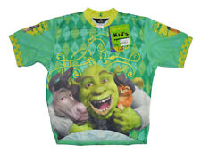 Canari Shrek Buddy Cycling Jersey XL Extra Large Childrens Youth Short Sleeve