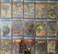 CGC Grab Bag BATMAN ADVENTURES 12 Thor SPIDER-MAN 194 Infinity Gauntlet 1 VENOM