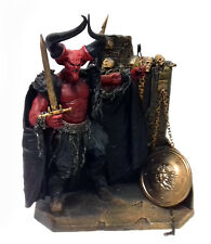 """Mcfarlane Toys Movie Maniacs Legend Lord Of Darkness 7"""" figure w/diorama stand"""