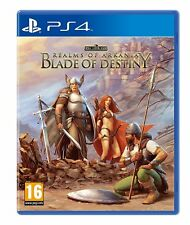 Realms Of Arkania Blade Of Destiny (PS4) BRAND NEW SEALED