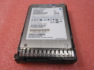 """636458-002 HP 200GB MLC SFF 2.5"""" SATA SSD SOLID STATE DRIVE MZ5EA200HMDR w/tray"""