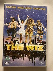 THE WIZ Michael Jackson DVD 1978 Region 2,4 FREE POSTAGE