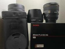 🌟Used Sigma EX 85mm f/1.4 HSM DG EX Lens For Nikon