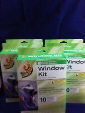 Duck Window Kit Shrink Film 10 Pack Lot of 5