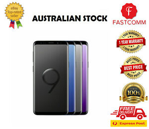 Samsung Galaxy S9 G960F 64GB / 256GB Unlocked Smartphone [ AU Stock ] Free Exp
