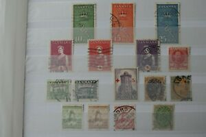 Denmark Stamps - Small Collection - E2