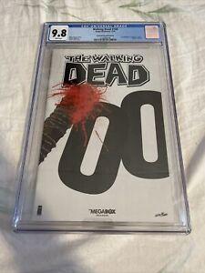 THE WALKING DEAD #100 SKYBOUND MEGABOX EDITION CGC GRADE 9.8 NEGAN